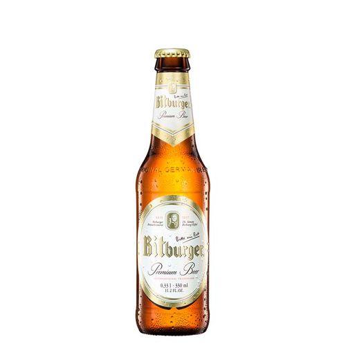 Cerveja Pilsen Bitburger GF 330ml