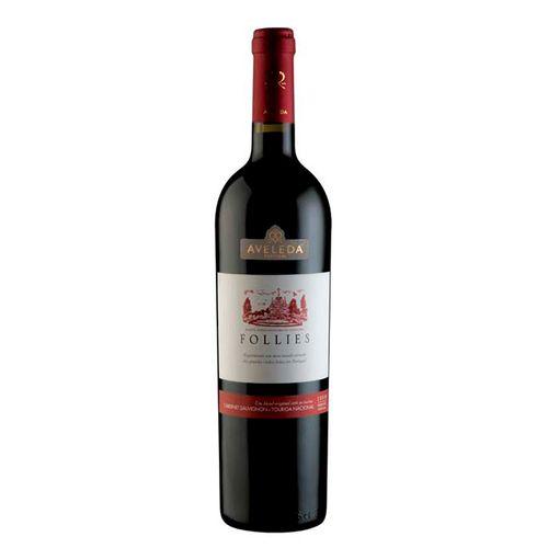 Vinho Follies Touriga Nacional Cabernet Sauvignon 750ml