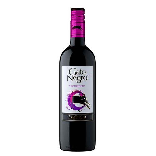 Vinho Gato Negro Carmenere 750ml