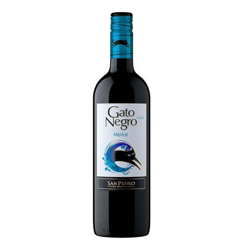 Vinho Gato Negro Merlot 750ml
