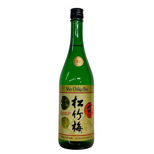 Sake Junmai - Sho Chiku Bai 750ml