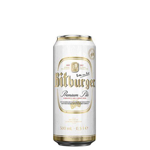 Cerveja Bitburger Premium Beer - Pilsener Lata 500ml