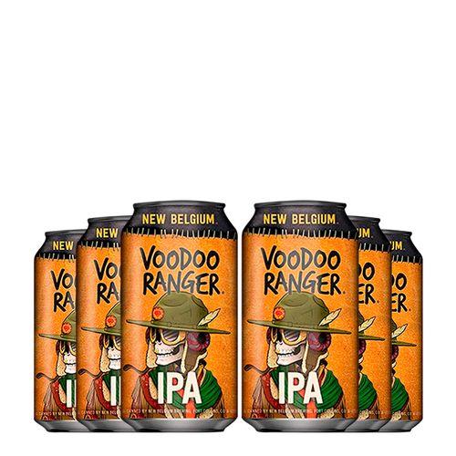 Kit de Cervejas Voodoo Ranger 06 unidades