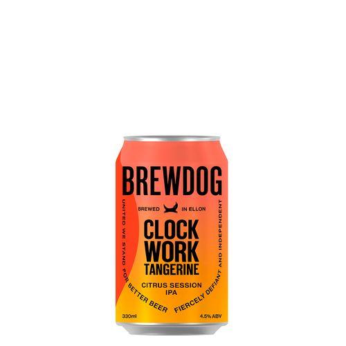 Cerveja Brewdog Clockwork Tangerine Lt 330ml