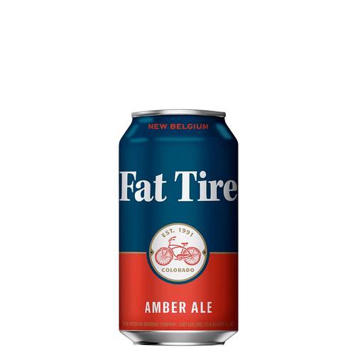 Cerveja New Belgium Fat Tire Amber Lt 355ml