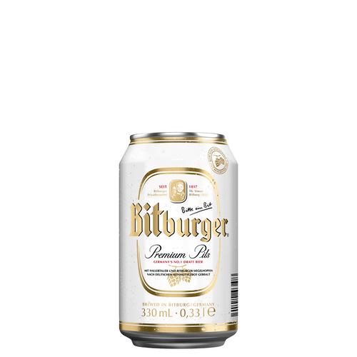 Cerveja Pilsen Bitburger Lt 330ml