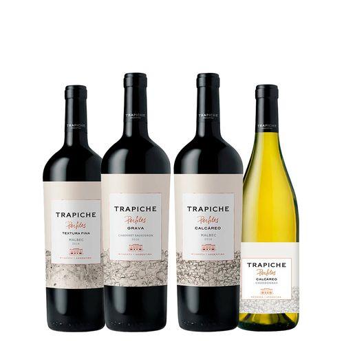Kit de Vinhos Experiência Trapiche Solos - 04 Unidades