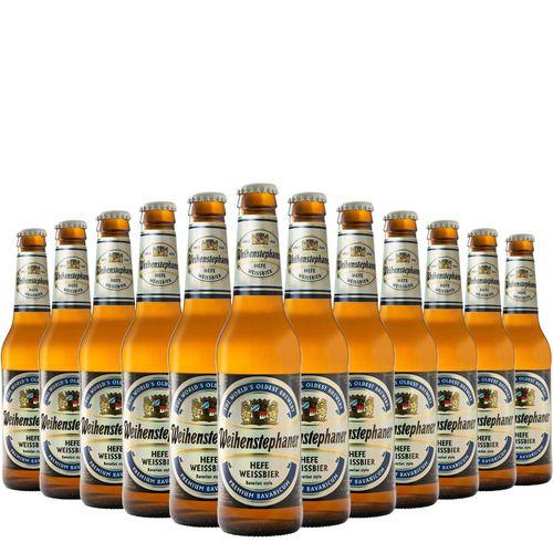 Kit de Cervejas Weihenstephaner Hefeweissbier Com 12 Unidades